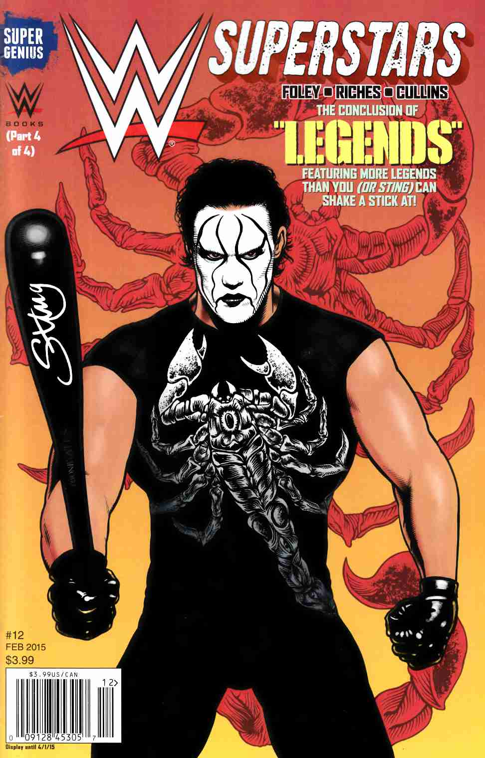 Wwe Superstars Ongoing #12 [NBE Comic] THUMBNAIL