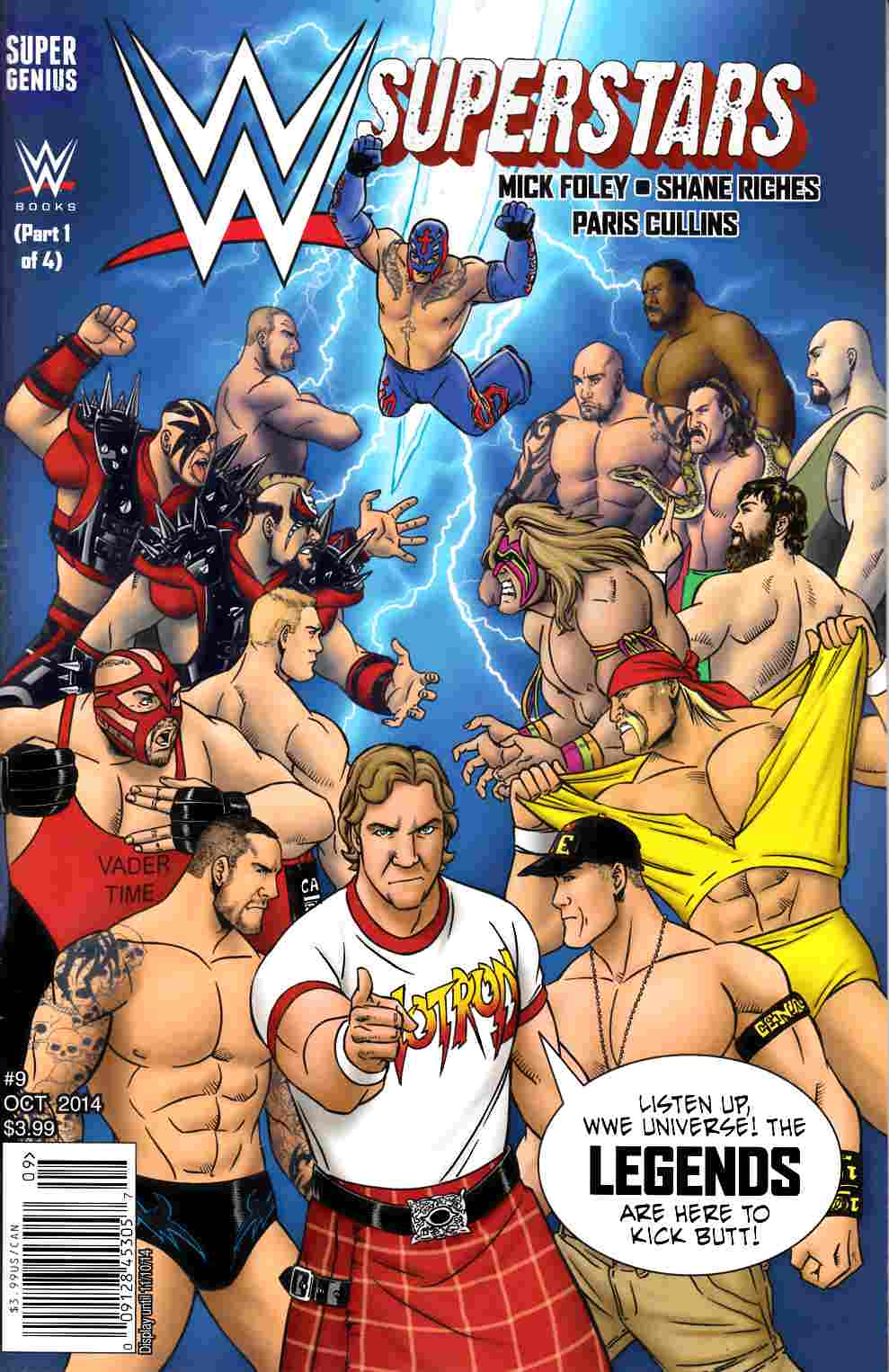 WWE Superstars Ongoing #9 Main Cover [Comic] THUMBNAIL