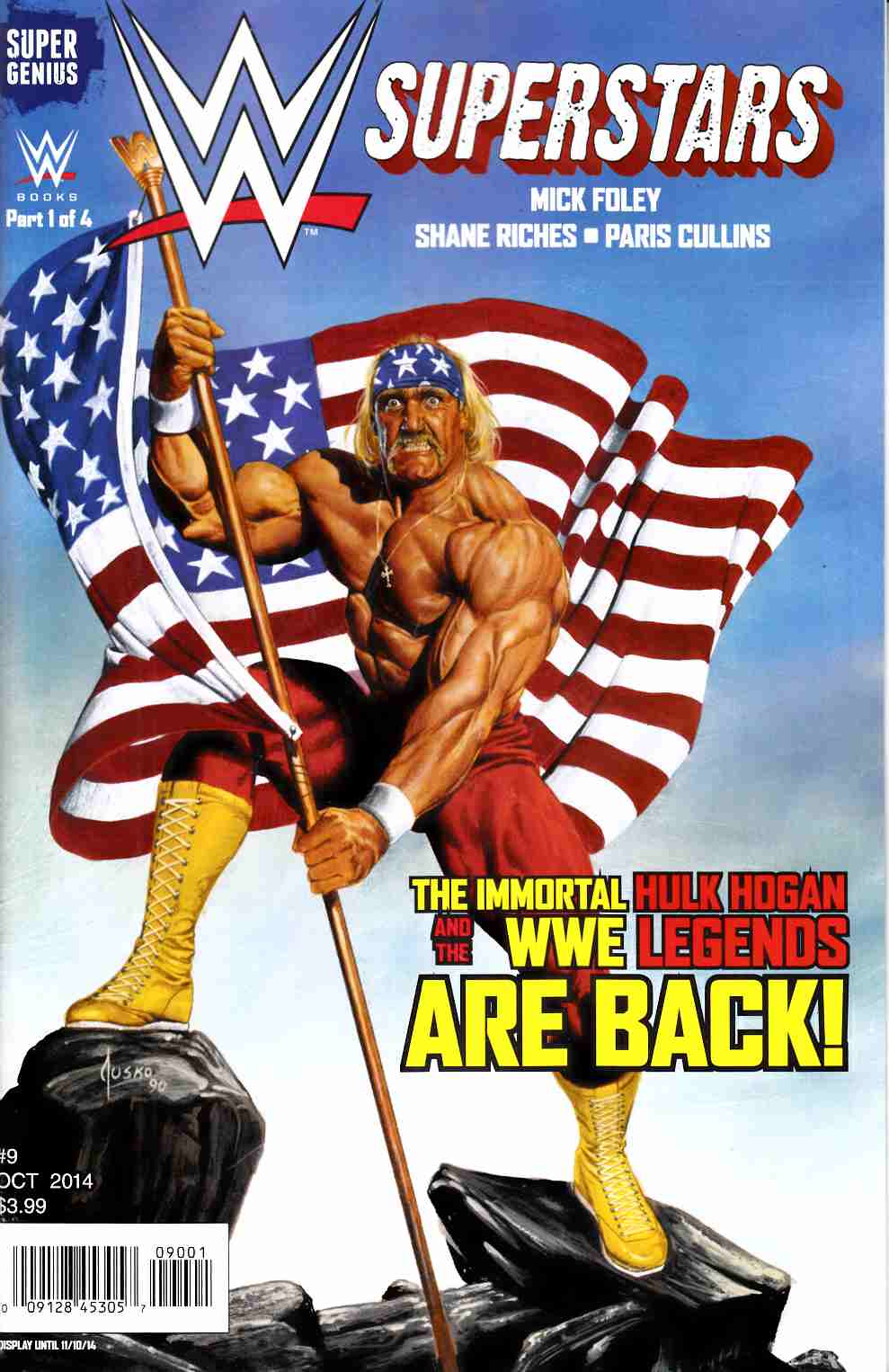 WWE Superstars Ongoing #9 Jusko Cover [Comic] THUMBNAIL