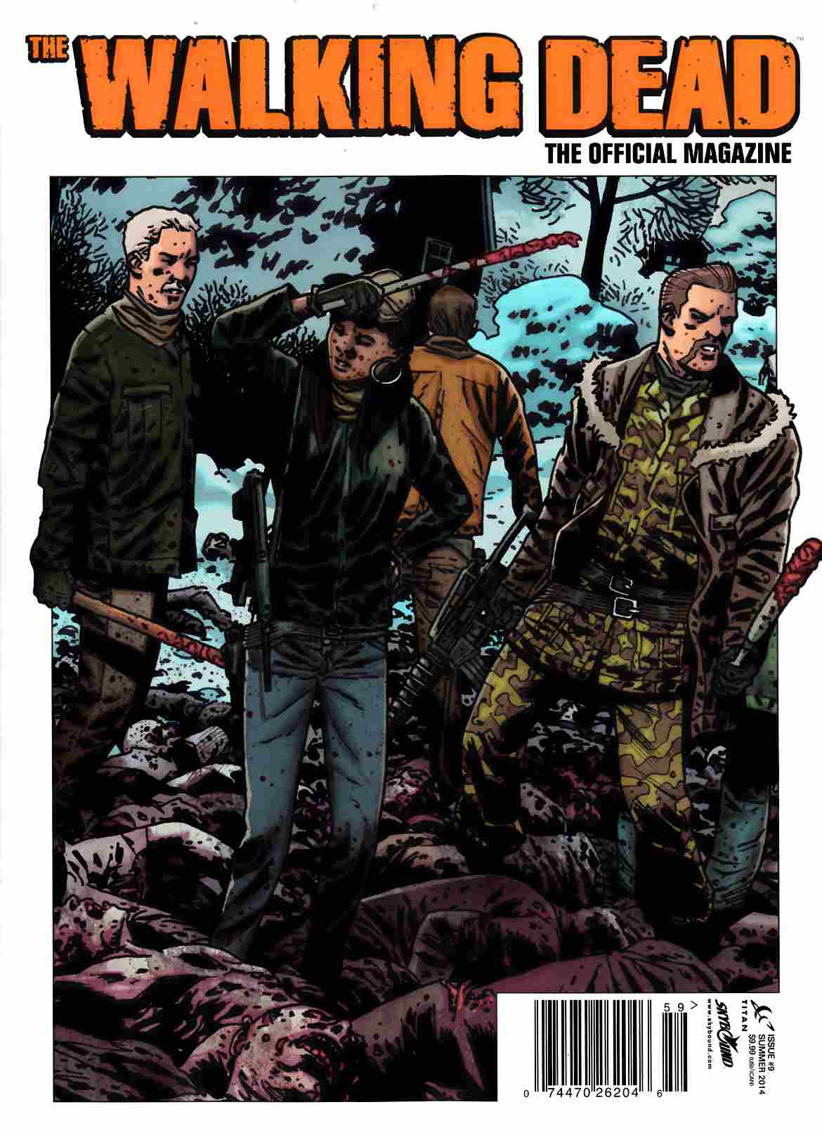 Walking Dead Magazine #9 Previews Edition [Comic] THUMBNAIL
