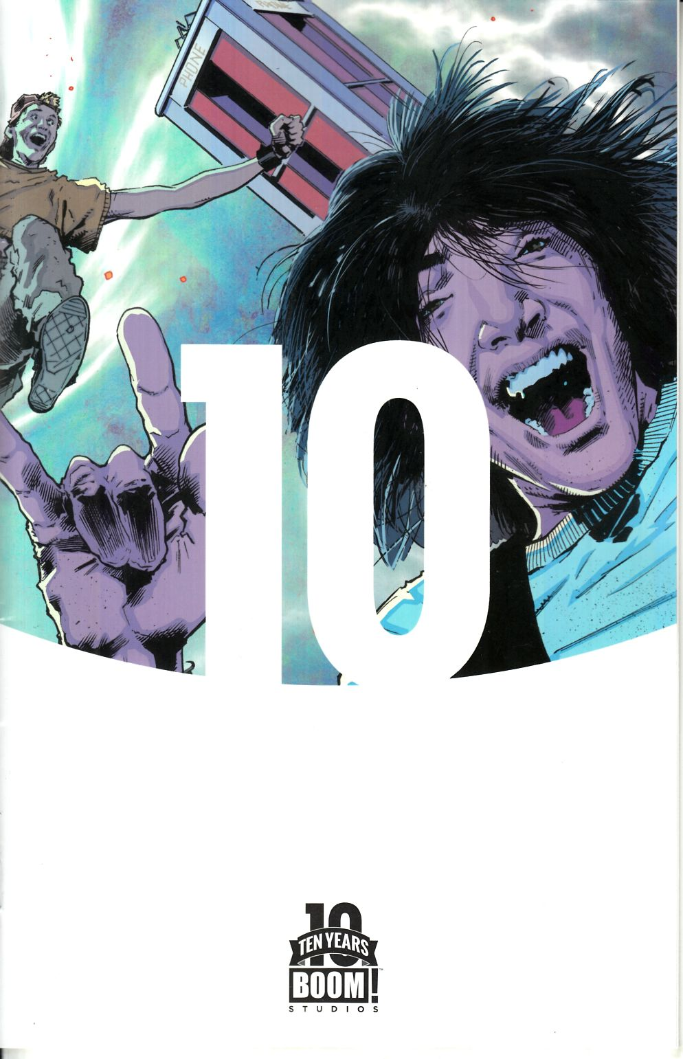 Bill & Ted Most Triumphant Return #1 Hairsine Incentive Cover [Boom Comic] THUMBNAIL