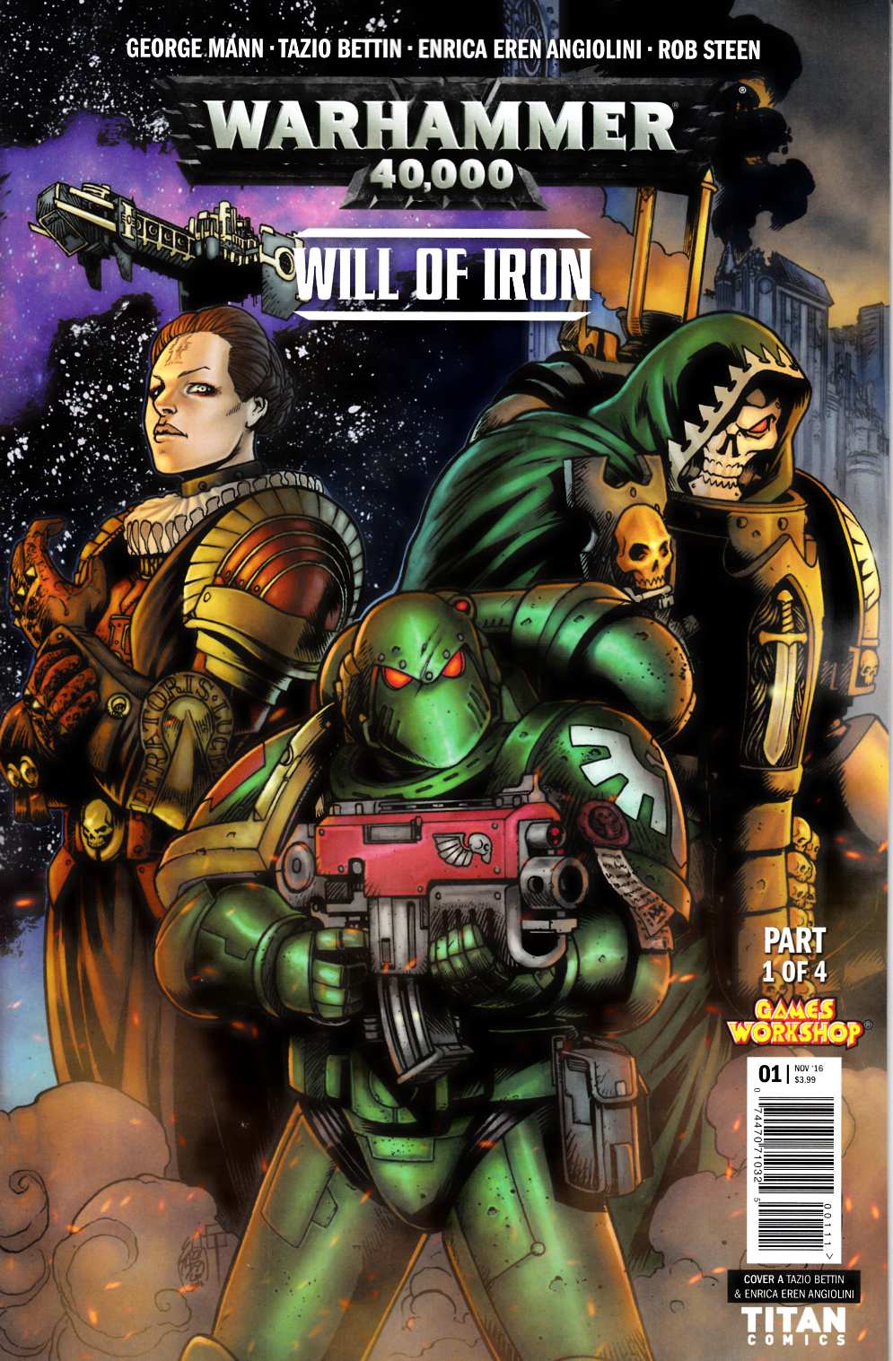 Warhammer 40000 Will of Iron #1 Cover A [Titan Comic] THUMBNAIL