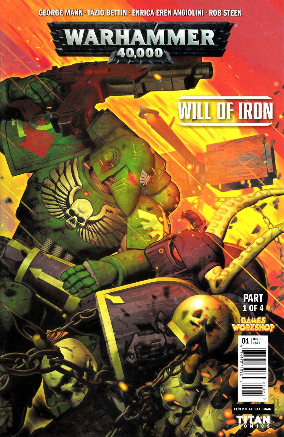 Warhammer 40000 Will of Iron #1 Cover C [Titan Comic] THUMBNAIL