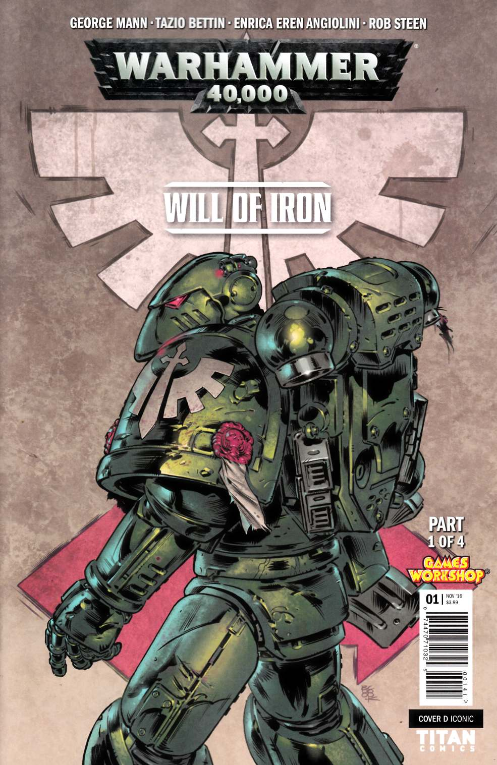 Warhammer 40000 Will of Iron #1 Cover D [Titan Comic] THUMBNAIL
