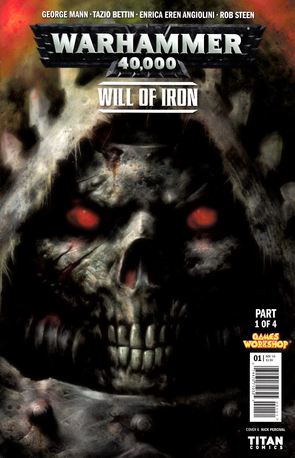 Warhammer 40000 Will of Iron #1 Cover E [Titan Comic] THUMBNAIL