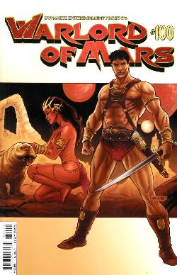 Warlord of Mars #100 Cover B- Neves [Comic] LARGE