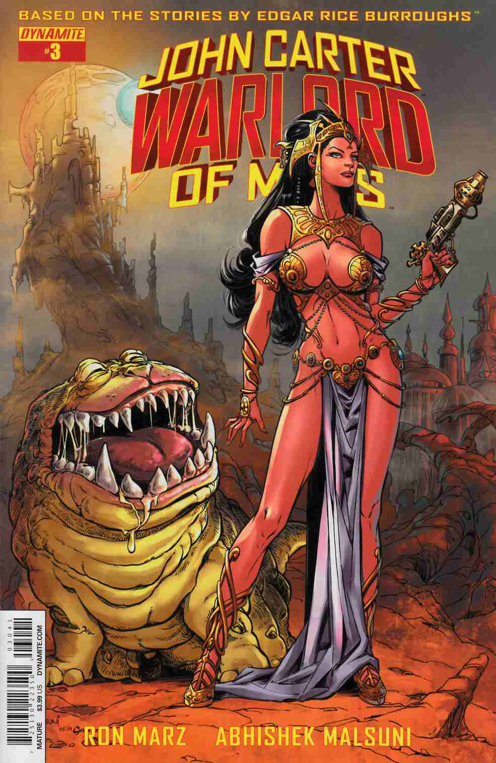 John Carter Warlord #3 Cover D- Malsuni Subscription [Dynamite Comic] THUMBNAIL