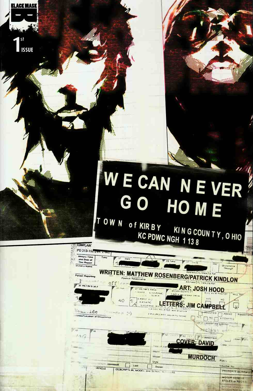 We Can Never Go Home #1 Cover B [Black Mask Comic] THUMBNAIL