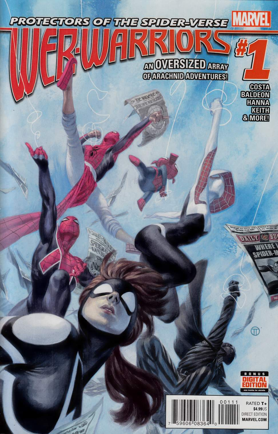 Web Warriors #1 [Marvel Comic] THUMBNAIL