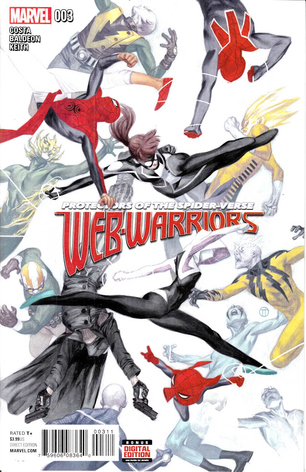 Web Warriors #3 [Marvel Comic] THUMBNAIL
