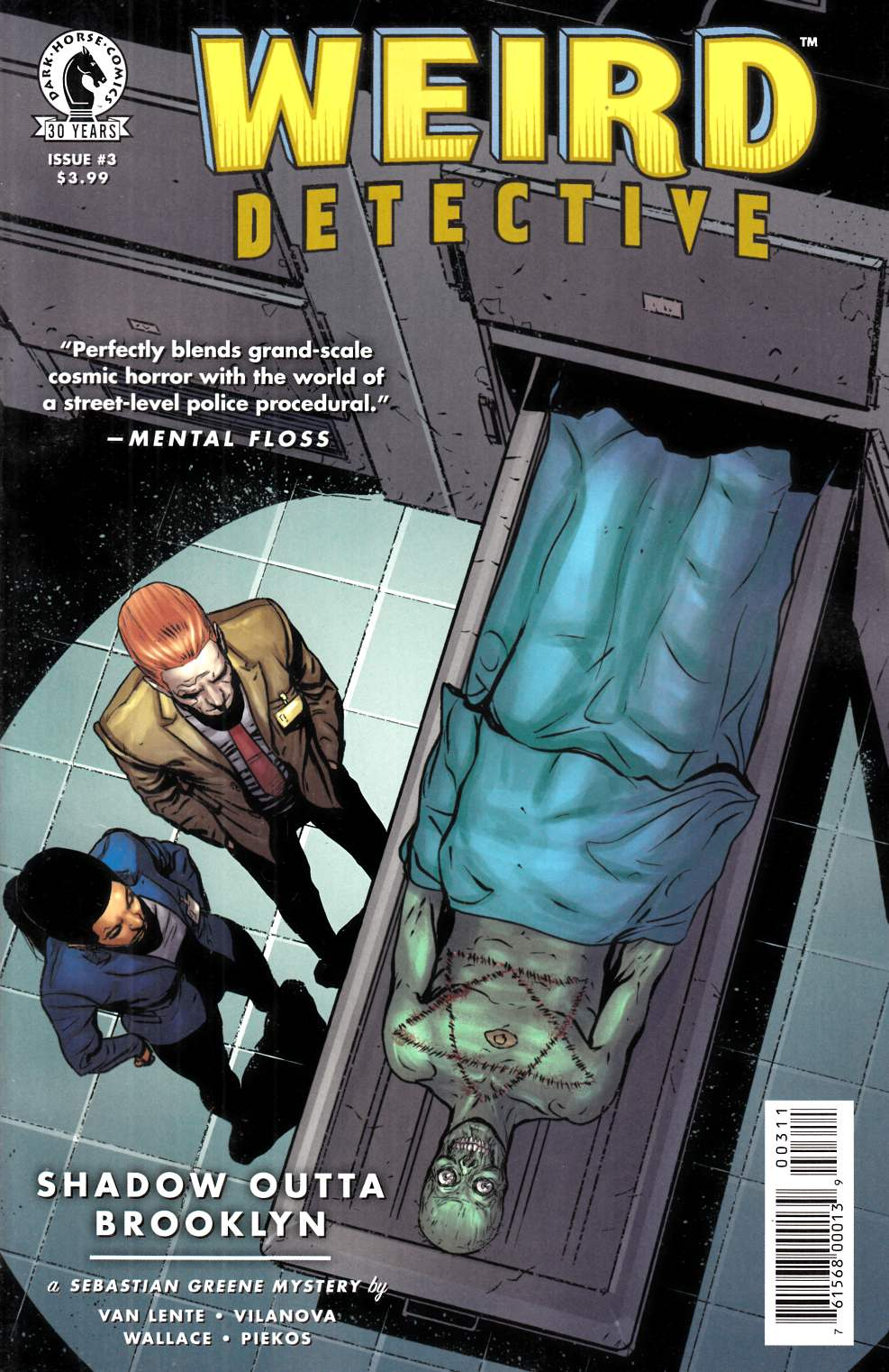 Weird Detective #3 [Dark Horse Comic] LARGE