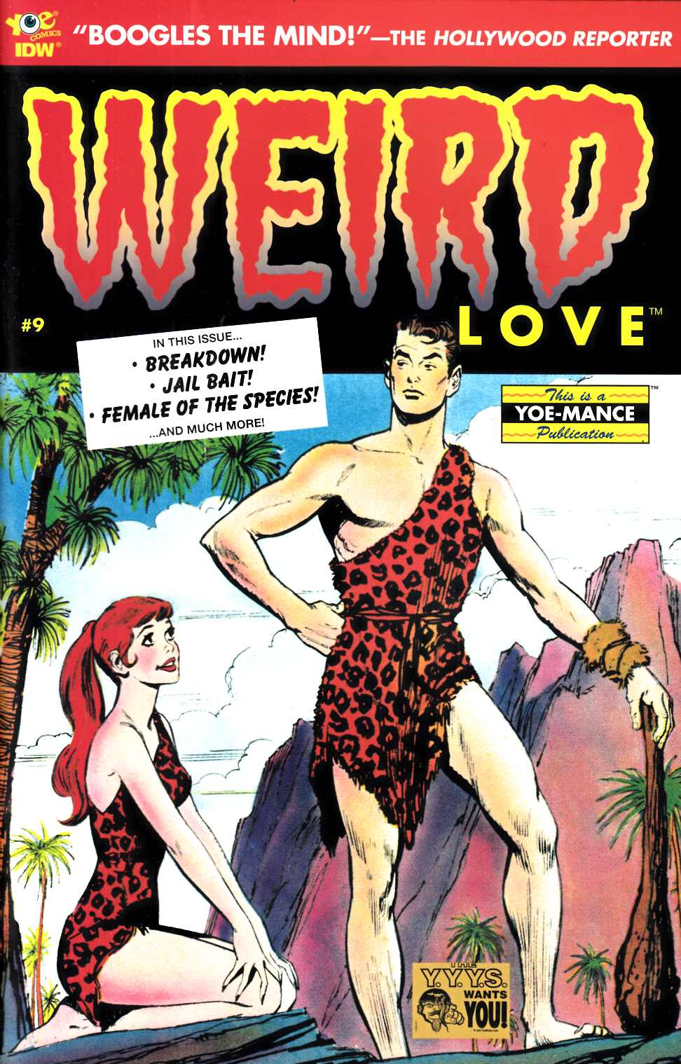 Weird Love #9 [IDW Comic] LARGE