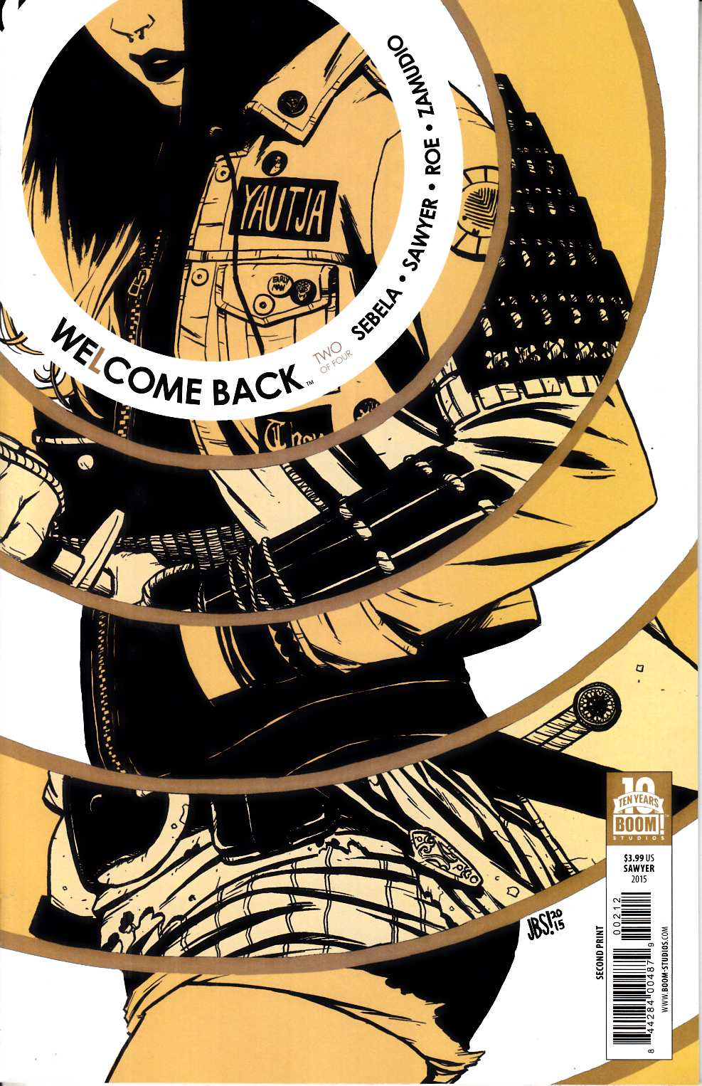Welcome Back #2 Second Printing [Boom Comic] THUMBNAIL