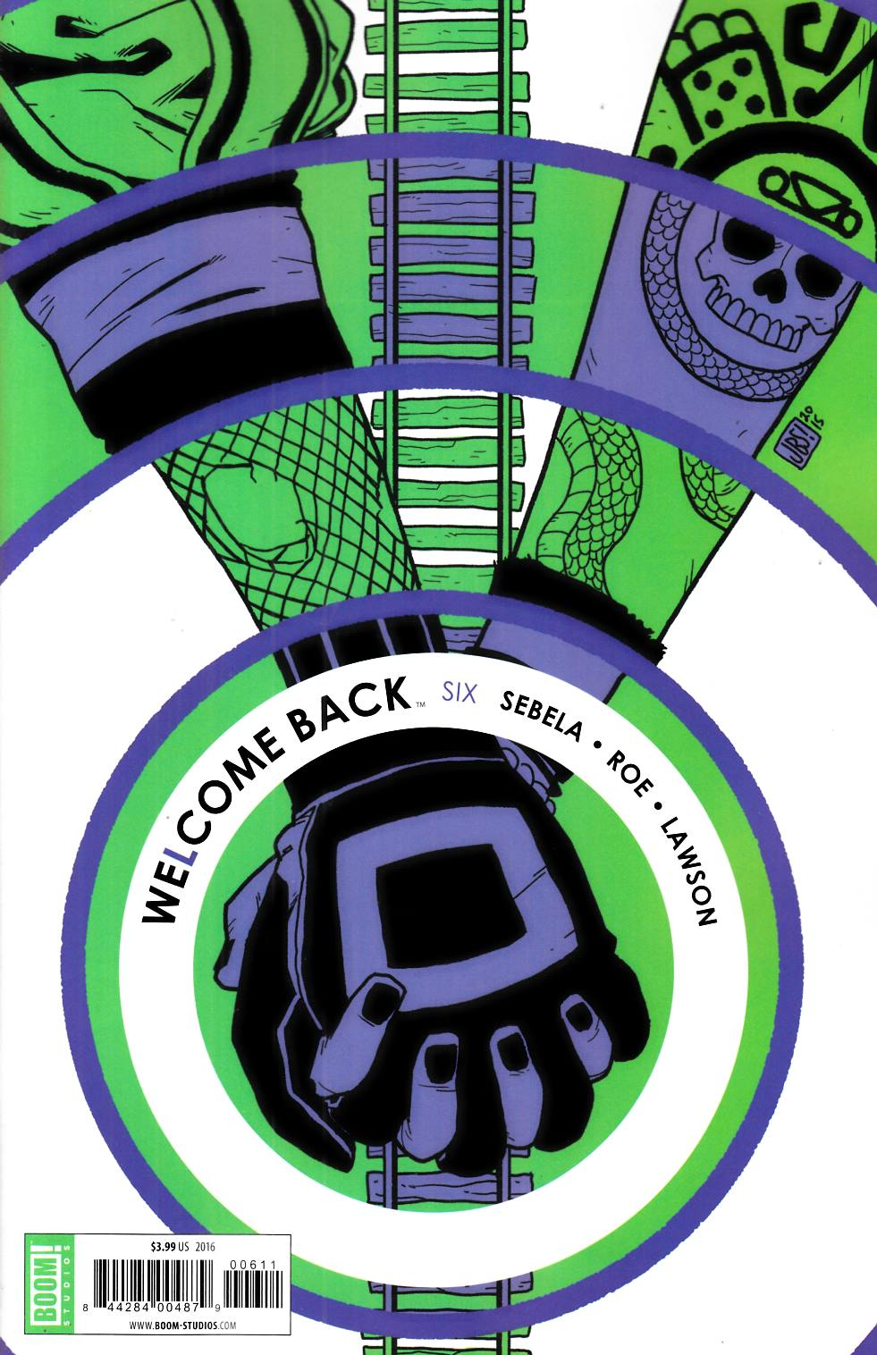Welcome Back #6 [Boom Comic] THUMBNAIL