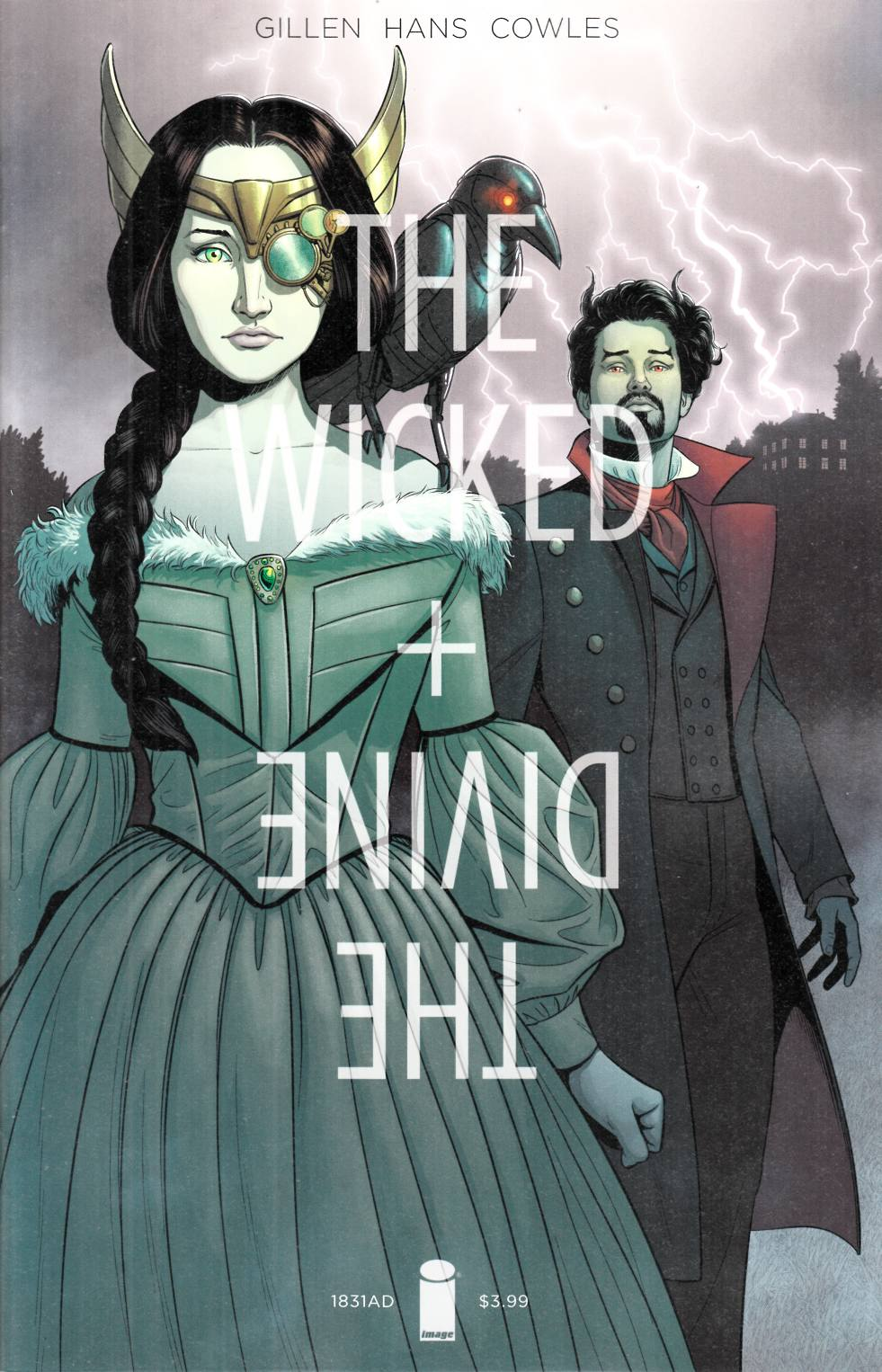 Wicked & Divine 1831 (One Shot) Cover A [Image Comic] LARGE