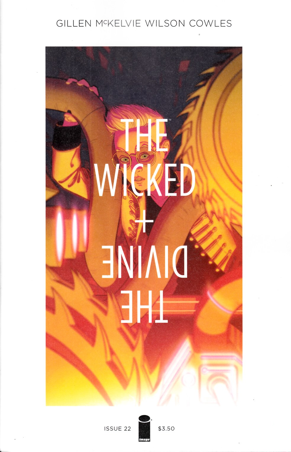 Wicked & Divine #22 Cover A [Image Comic] LARGE