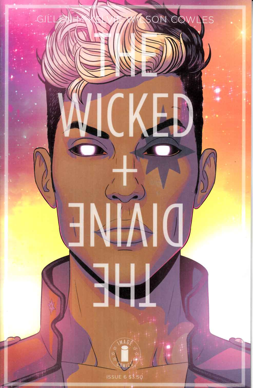 Wicked & Divine #6 Cover C- Circle Logo Edition [Image Comic] LARGE