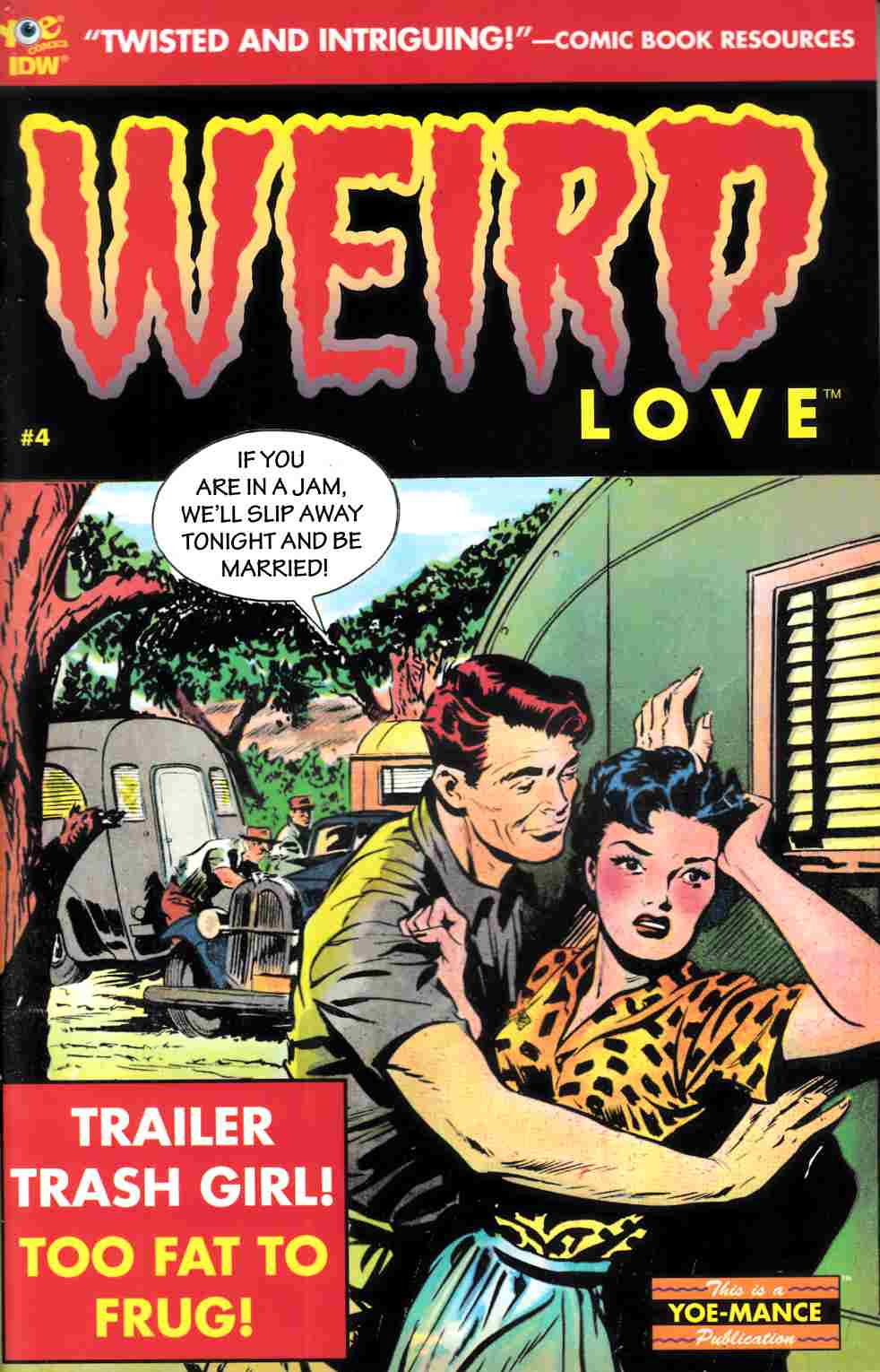 Weird Love #4 [IDW Comic] LARGE