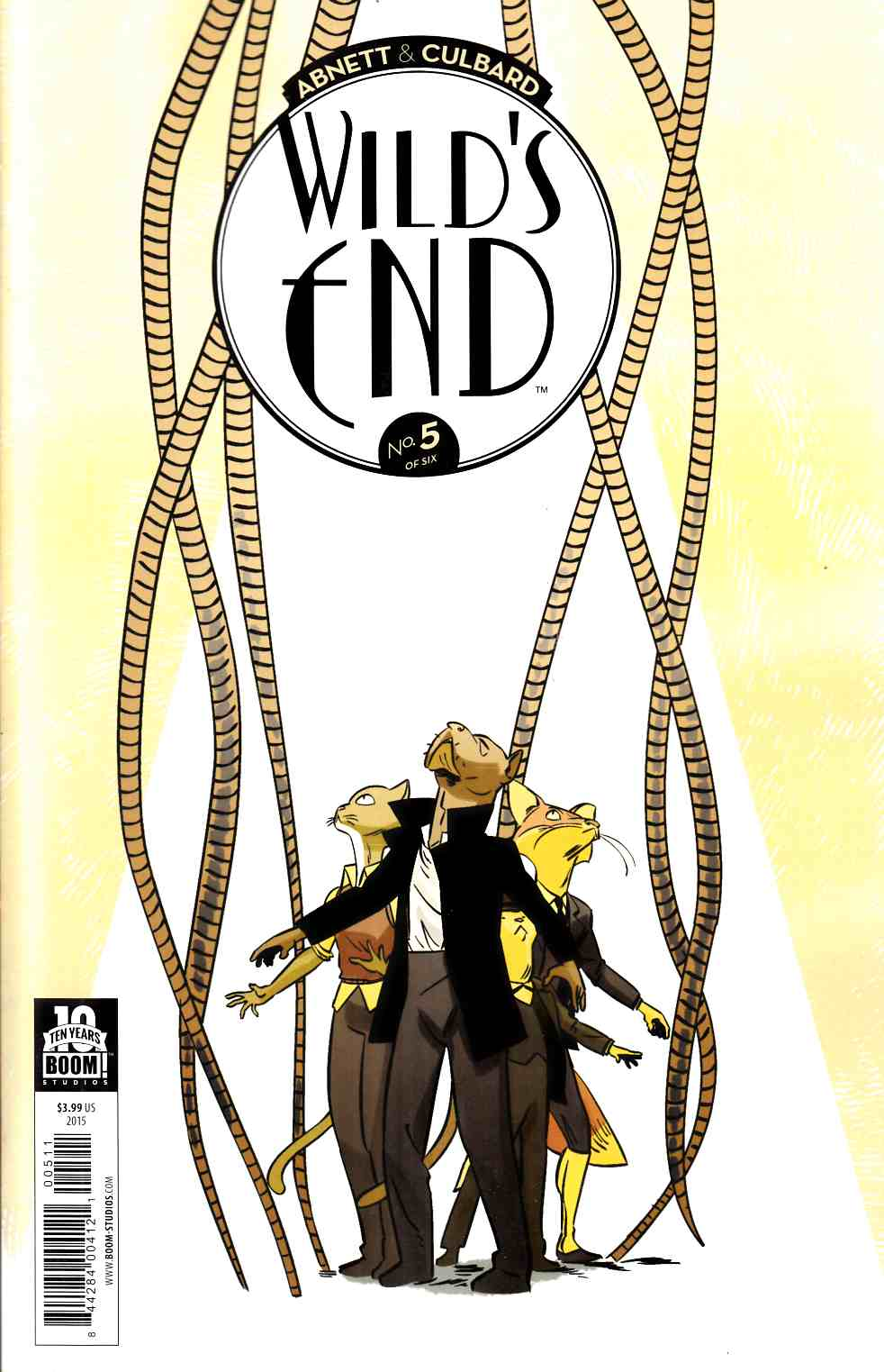 Wilds End #5 [Boom Comic]