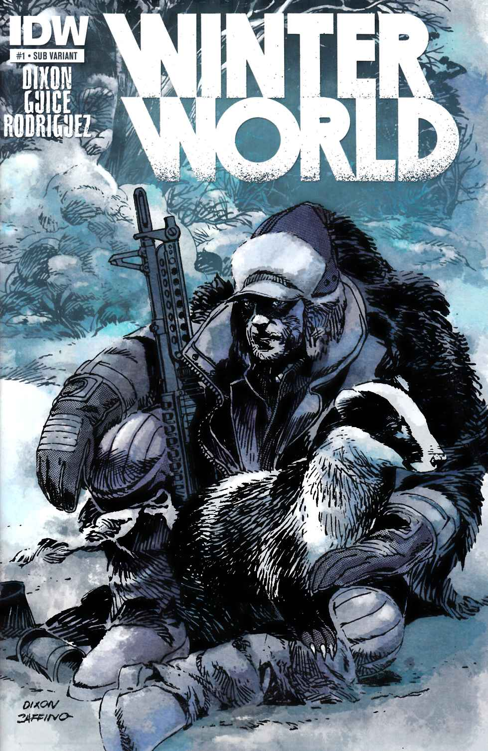 Winterworld #1 Subscription Cover [Comic] THUMBNAIL