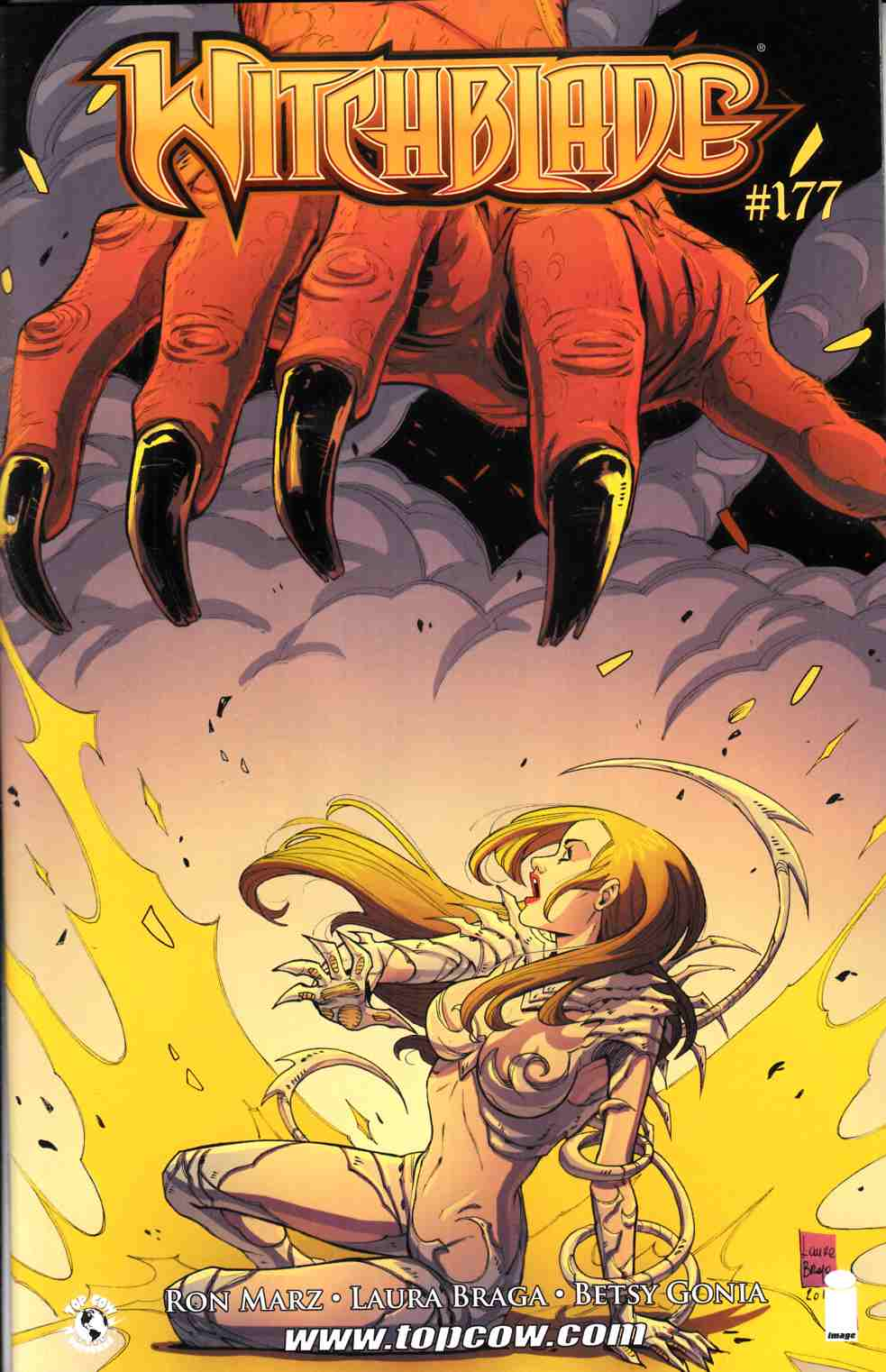 Witchblade #177 Cover A- Braga [Comic] THUMBNAIL