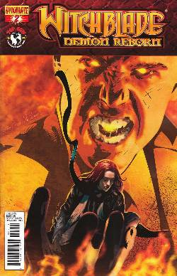 Witchblade Demon Reborn #2 Cover A- Calero [Comic]