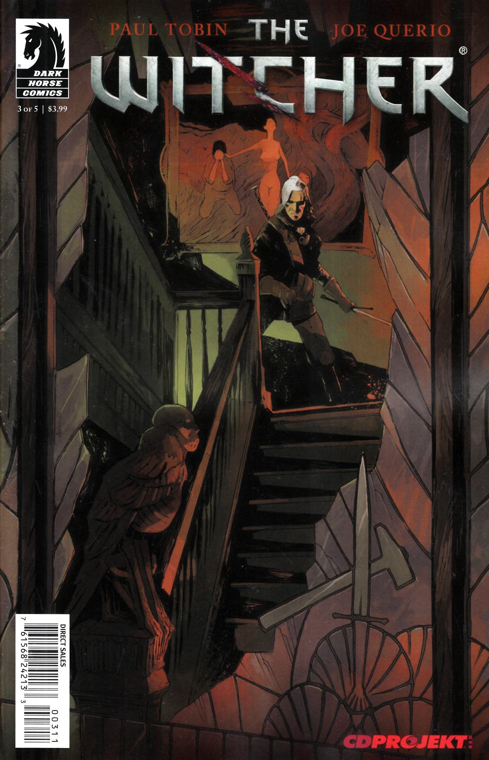 Witcher #3 Very Fine (8.0) [Dark Horse Comic] THUMBNAIL