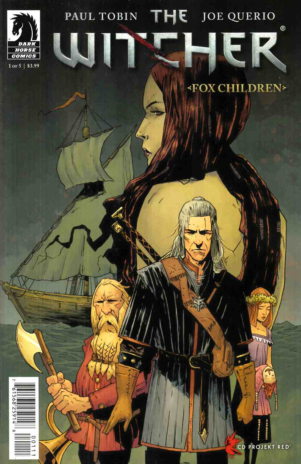 Witcher Fox Children #1 [Dark Horse Comic]
