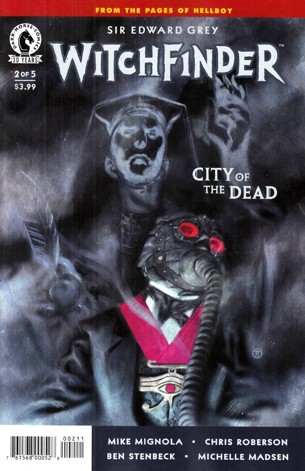 Witchfinder City of the Dead #2 [Dark Horse Comic] LARGE