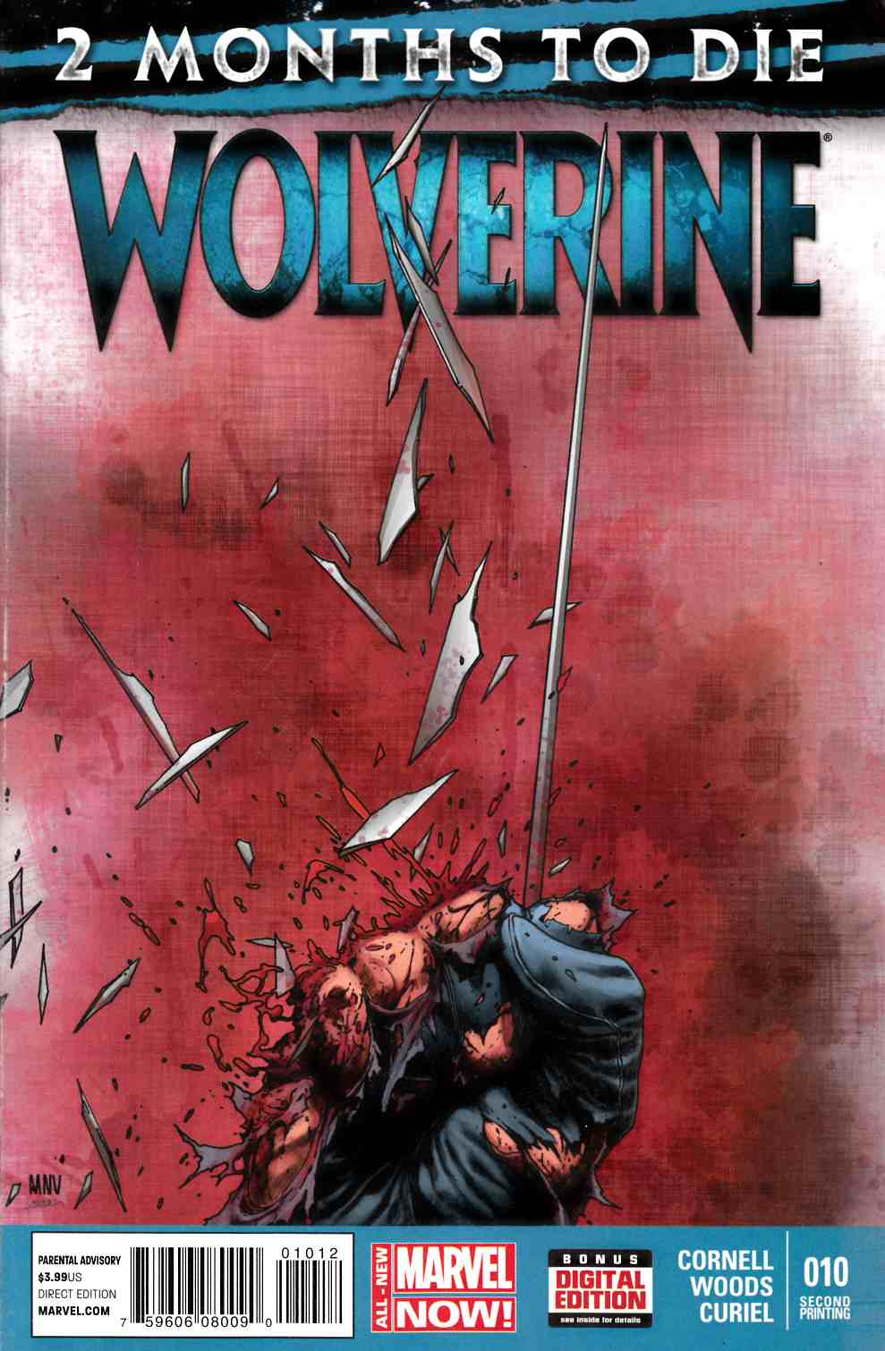 Wolverine #10 Second (2nd) Print [Comic] THUMBNAIL