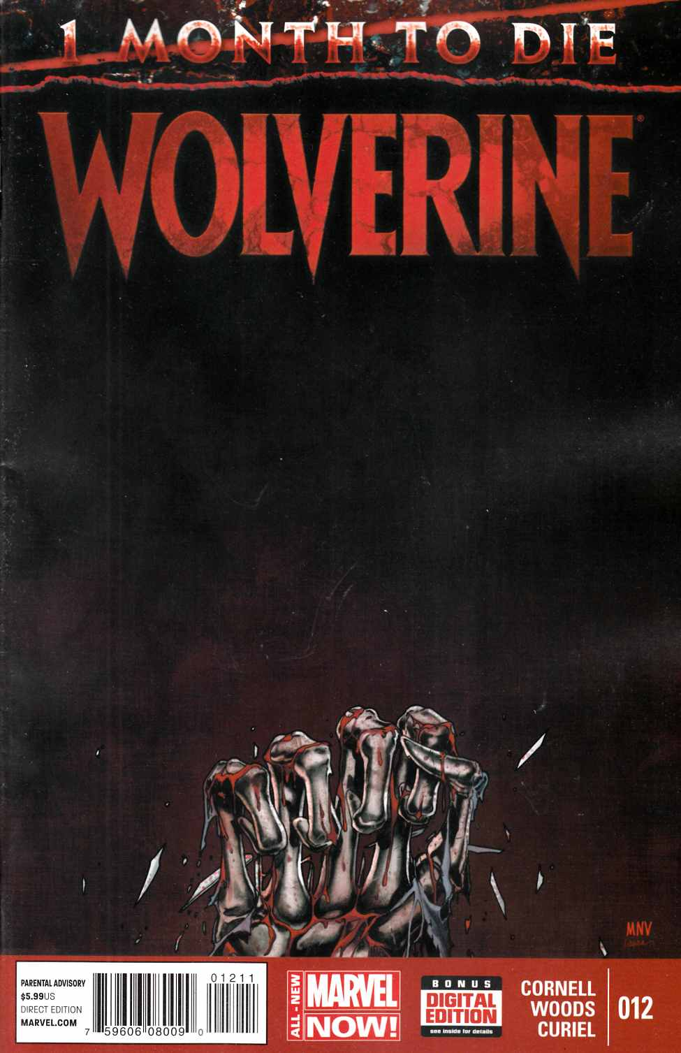 Wolverine #12 Near Mint (9.4) [Marvel Comic] THUMBNAIL