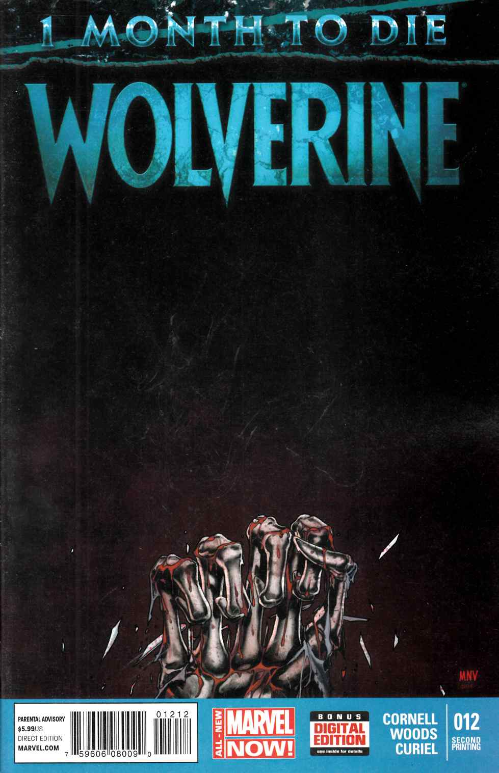 Wolverine #12 Second Printing [Marvel Comic] THUMBNAIL
