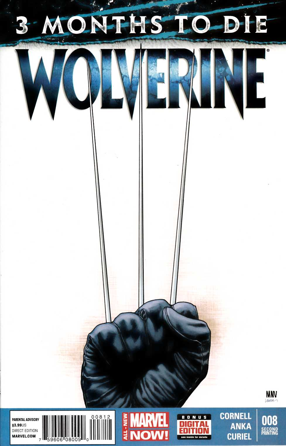 Wolverine #8 Second Printing [Comic] THUMBNAIL