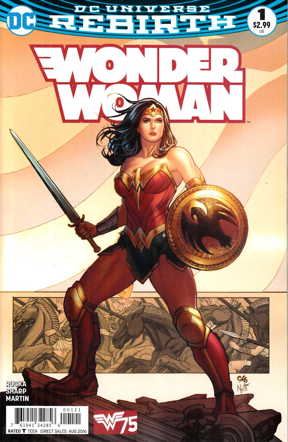 Wonder Woman #1 Cho Variant Cover [DC Comic] LARGE