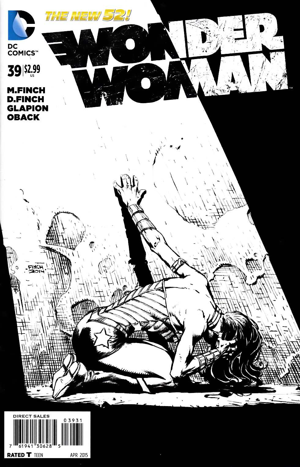 Wonder Woman 39 Black  White Variant Cover Dc Comic  Dreamlandcomicscom Online -1748