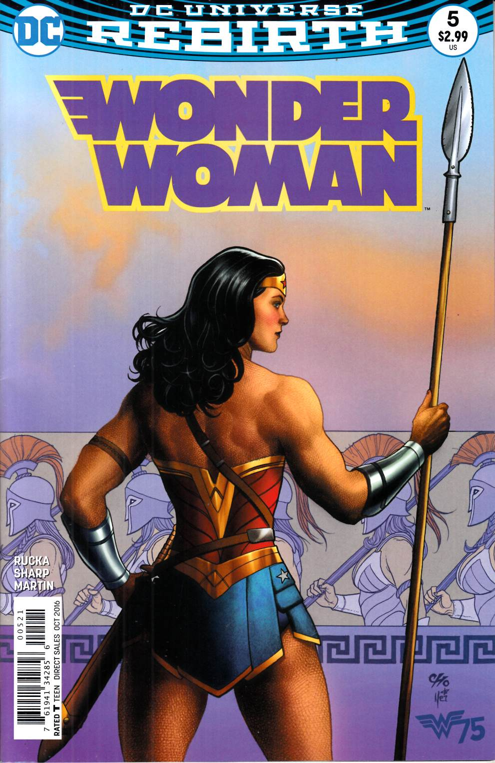 Wonder Woman #5 Cho Variant Cover Near Mint (9.4) [DC Comic] LARGE