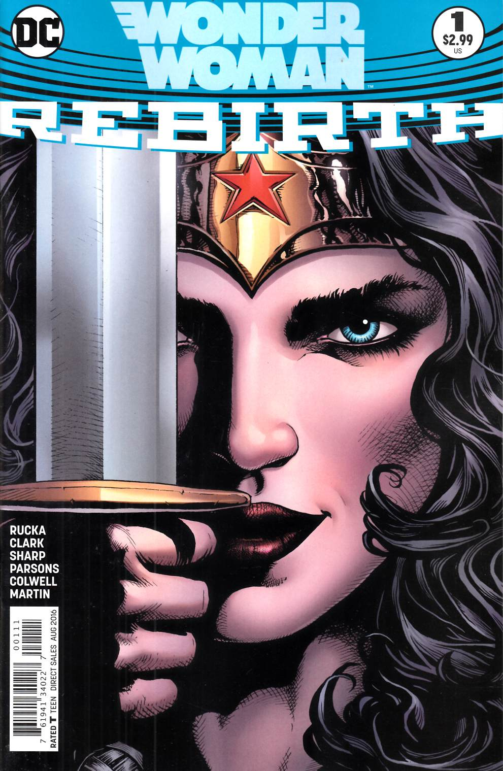 Wonder Woman Rebirth #1 [DC Comic] LARGE