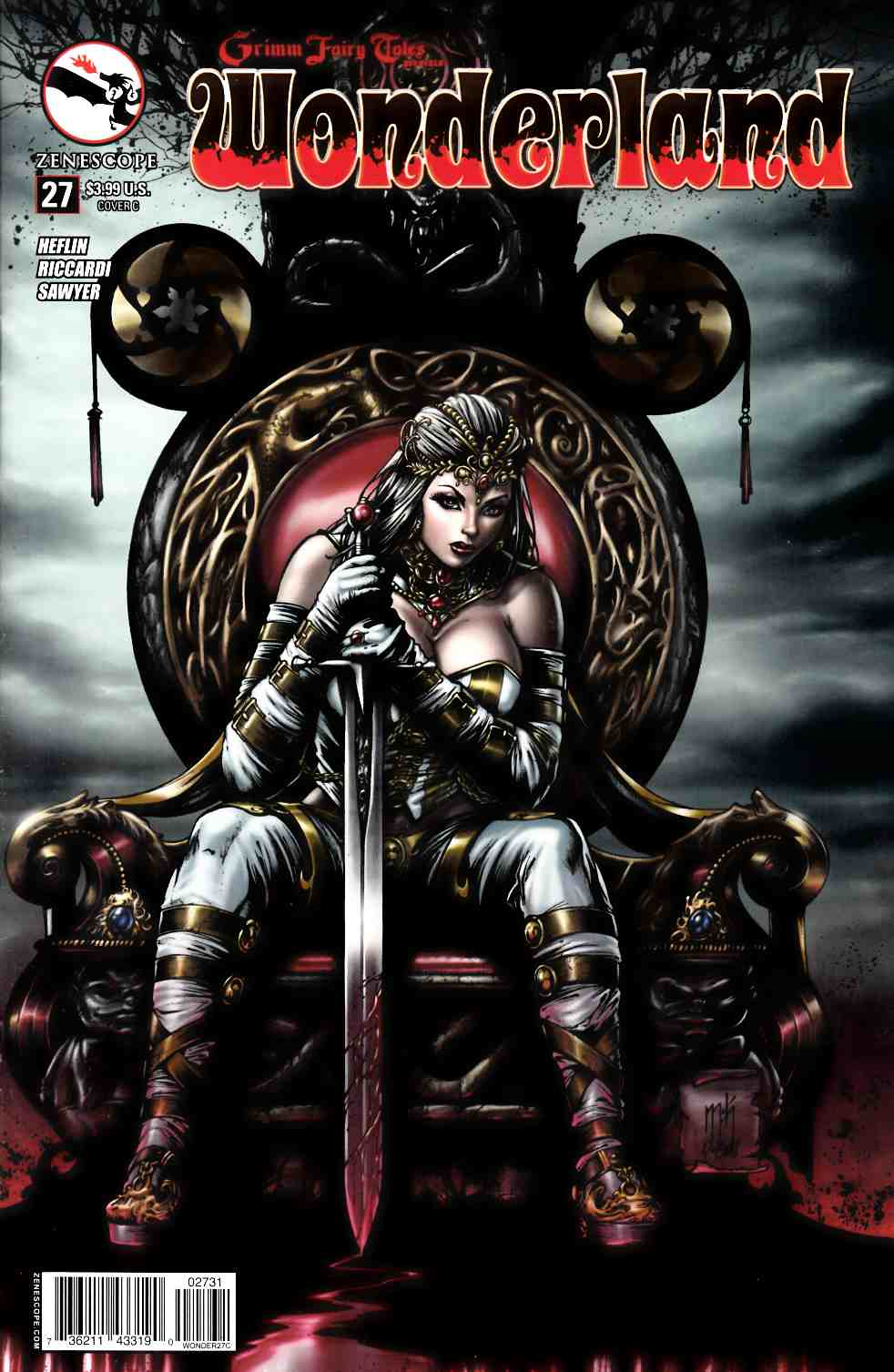 Wonderland #27 Cover C- Krome [Zenescope Comic] LARGE