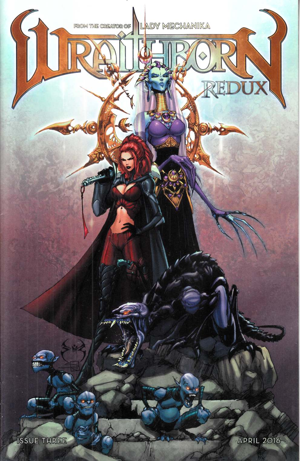 Wraithborn #3 Cover B [Benitez Comic] LARGE