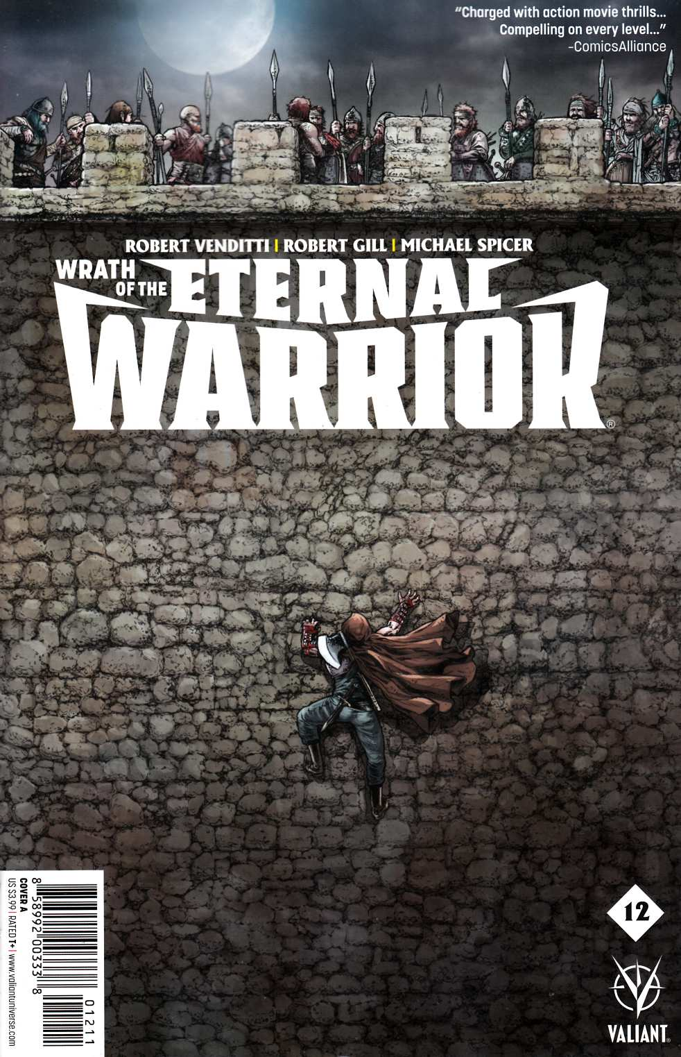 Wrath of the Eternal Warrior #12 Cover A [Valiant Comic] THUMBNAIL