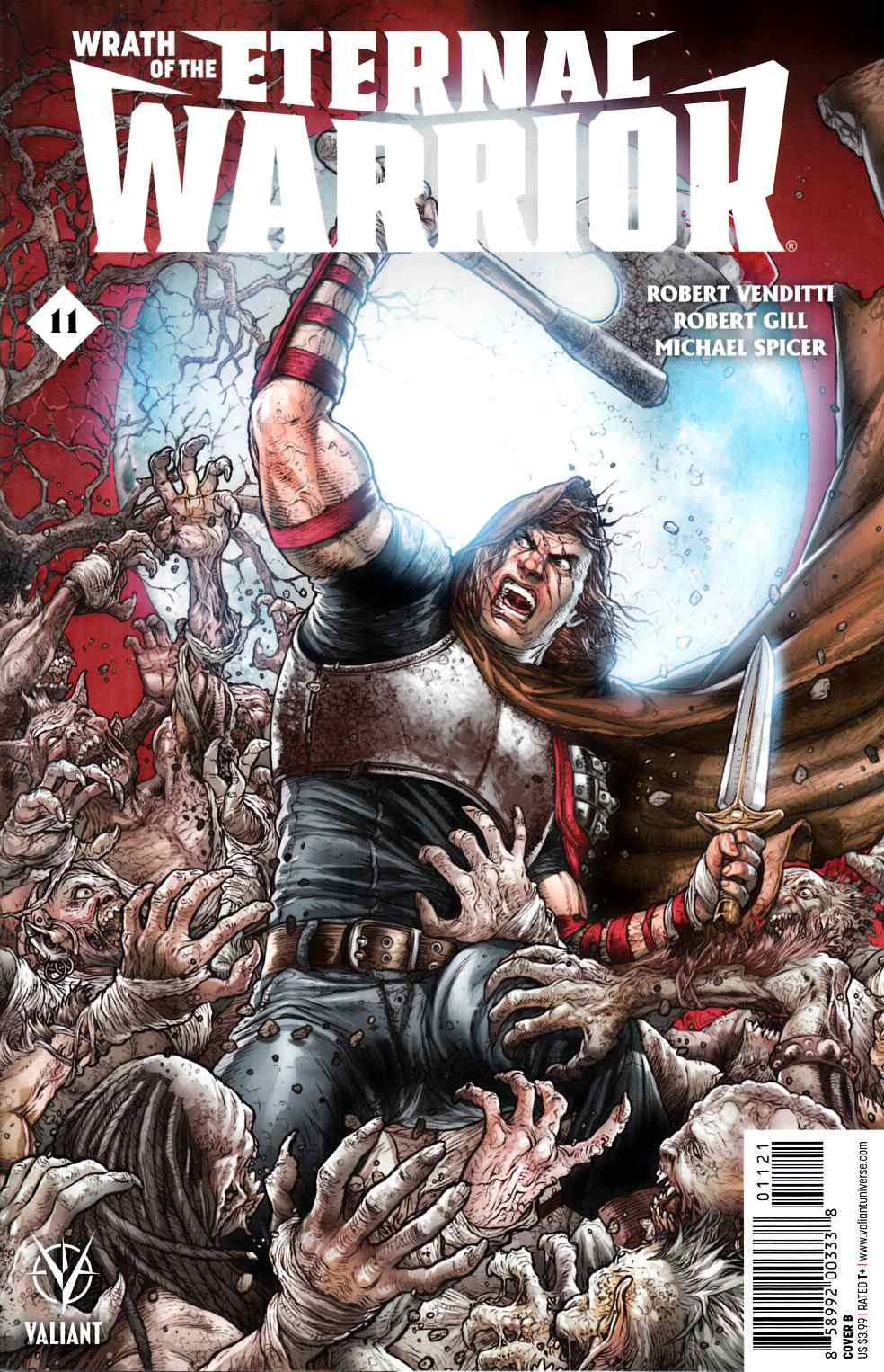 Wrath of the Eternal Warrior #11 Cover B [Valiant Comic] THUMBNAIL