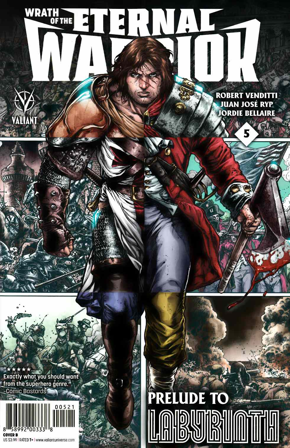 Wrath of Eternal Warrior #5 Cover B- Ryp [Valiant Comic] THUMBNAIL
