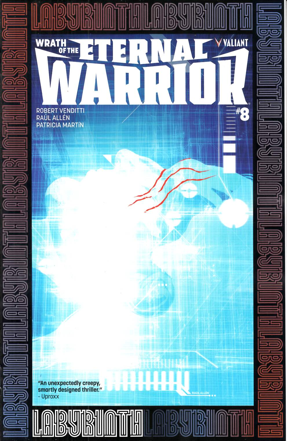 Wrath of the Eternal Warrior #8 Cover A [Valiant Comic] LARGE