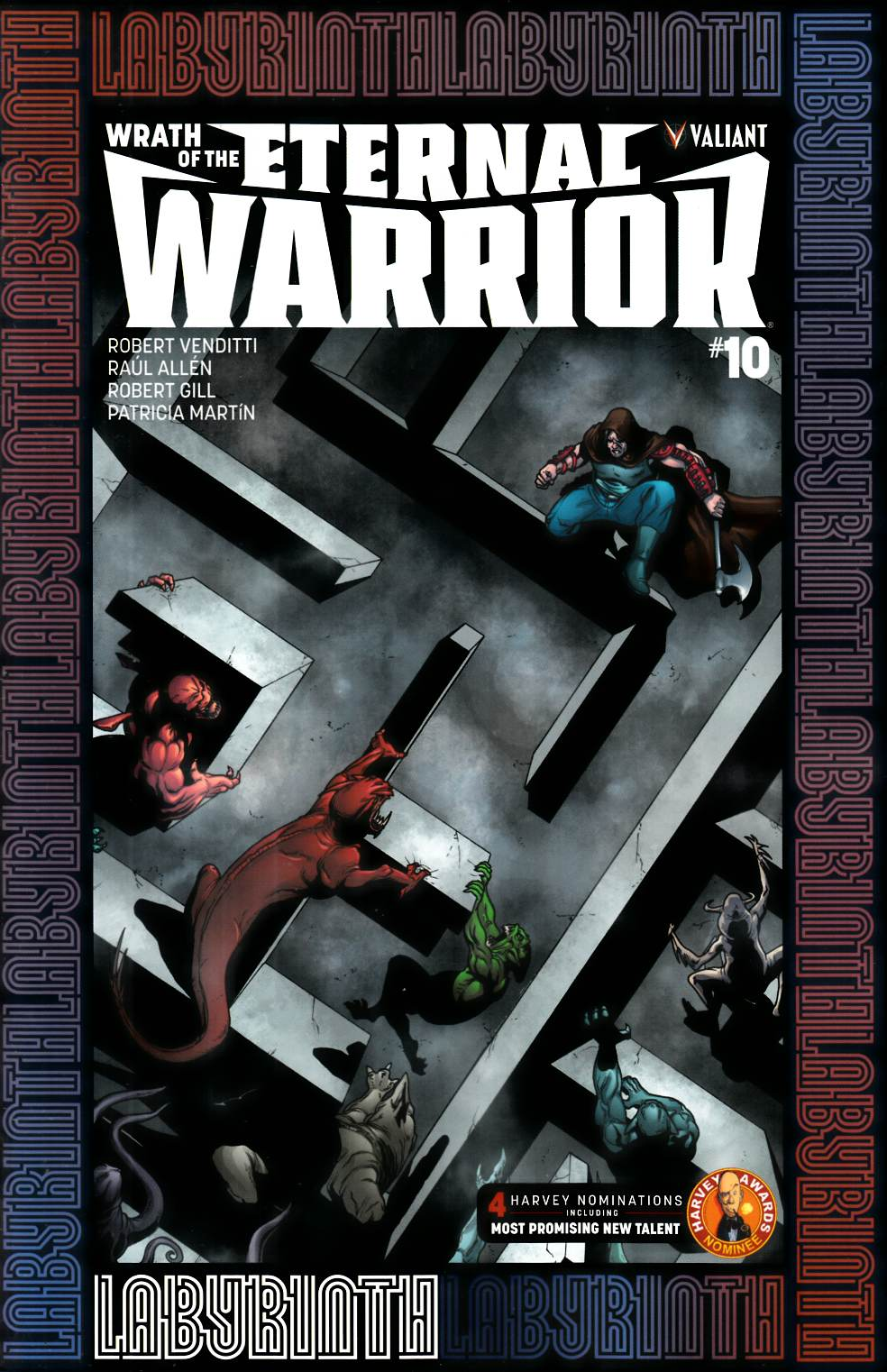 Wrath of Eternal Warrior #10 Cover B [Valiant Comic] THUMBNAIL