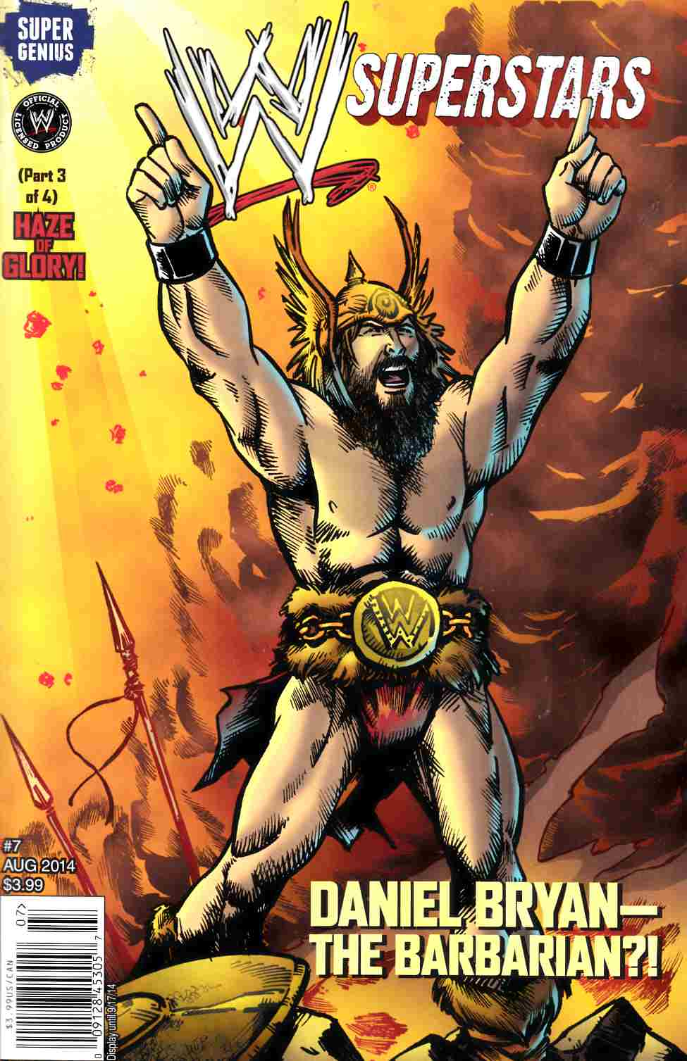 WWE Superstars Ongoing #7 [Comic] THUMBNAIL