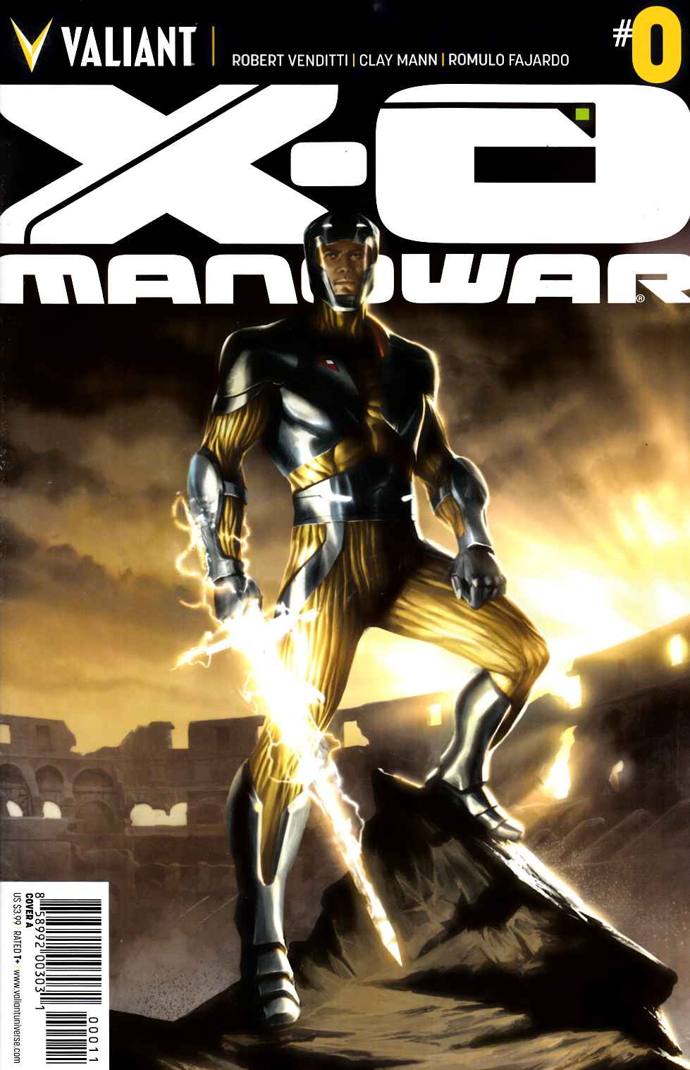 X-O Manowar #0 Cover A Kevic-Djurdjevic [Valiant Comic] THUMBNAIL