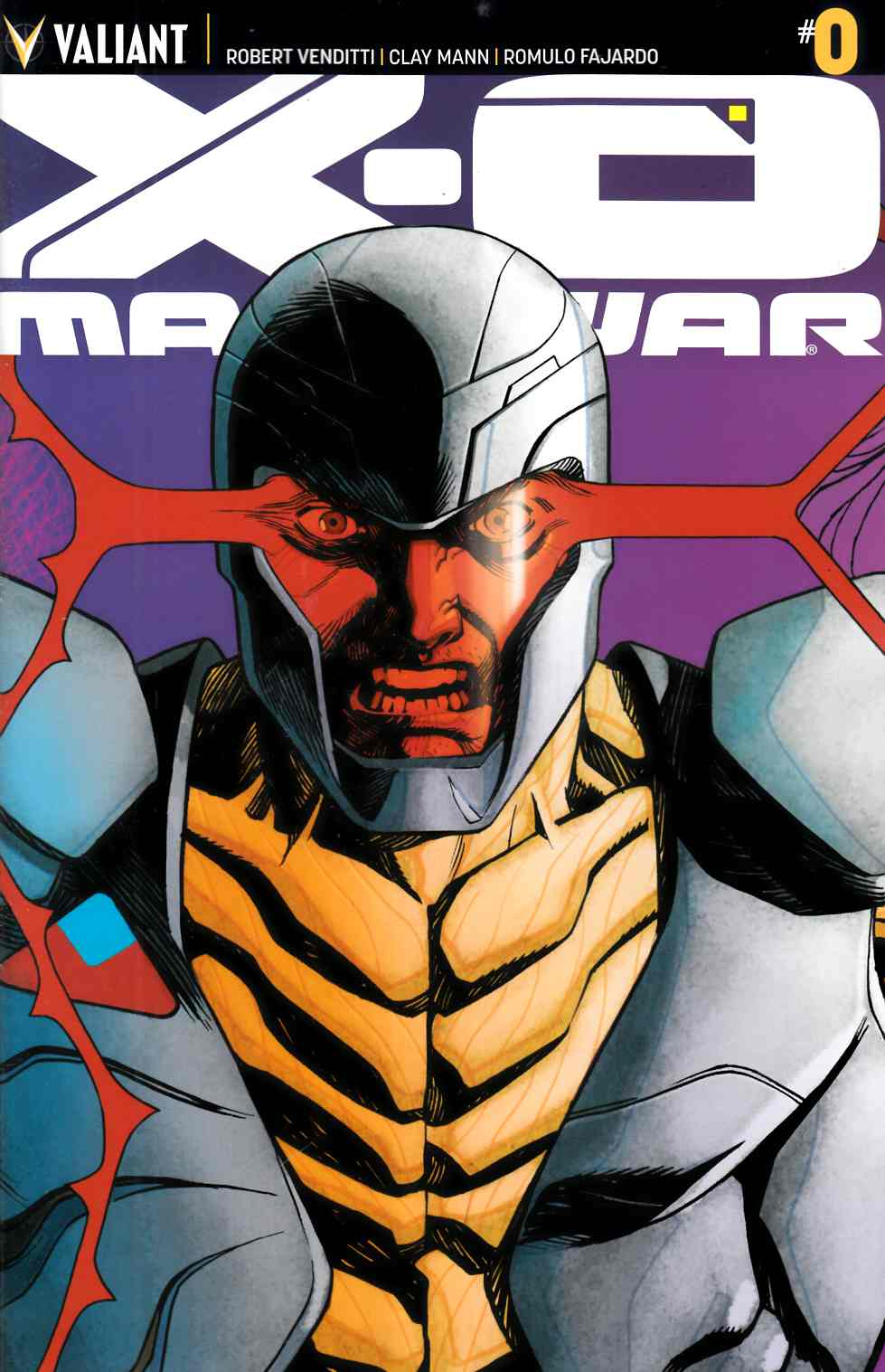 X-O Manowar #0 Cover E Johnson Interlocking [Comic] THUMBNAIL