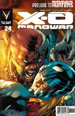 X-O Manowar #24 [Comic] LARGE