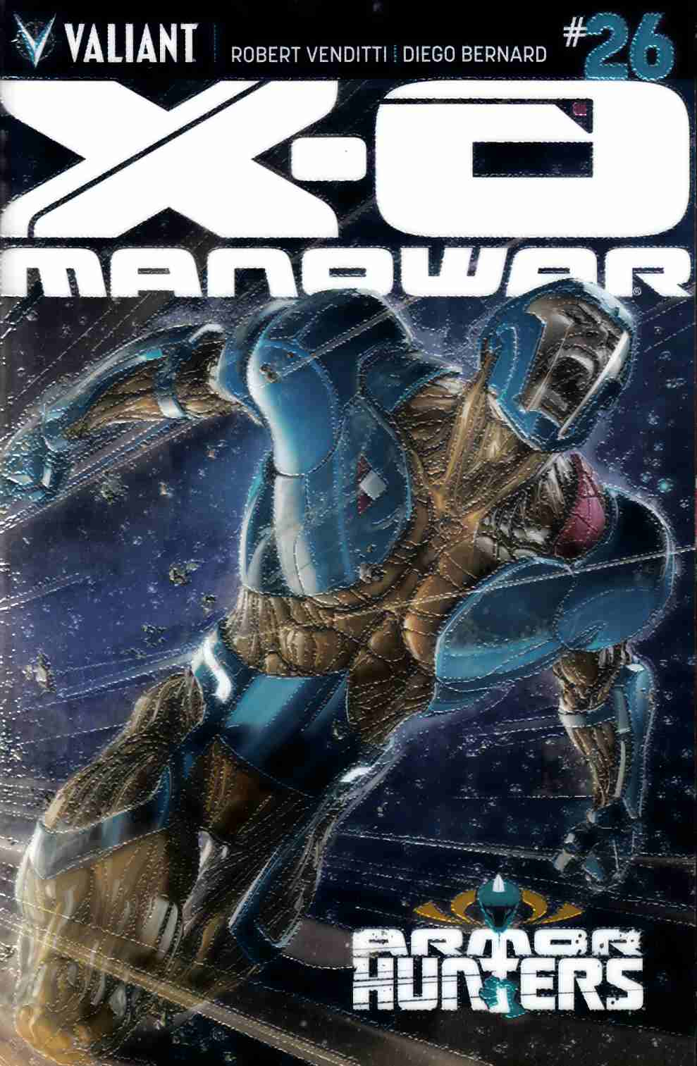 X-O Manowar #26 Chromium Cover [Comic]_THUMBNAIL