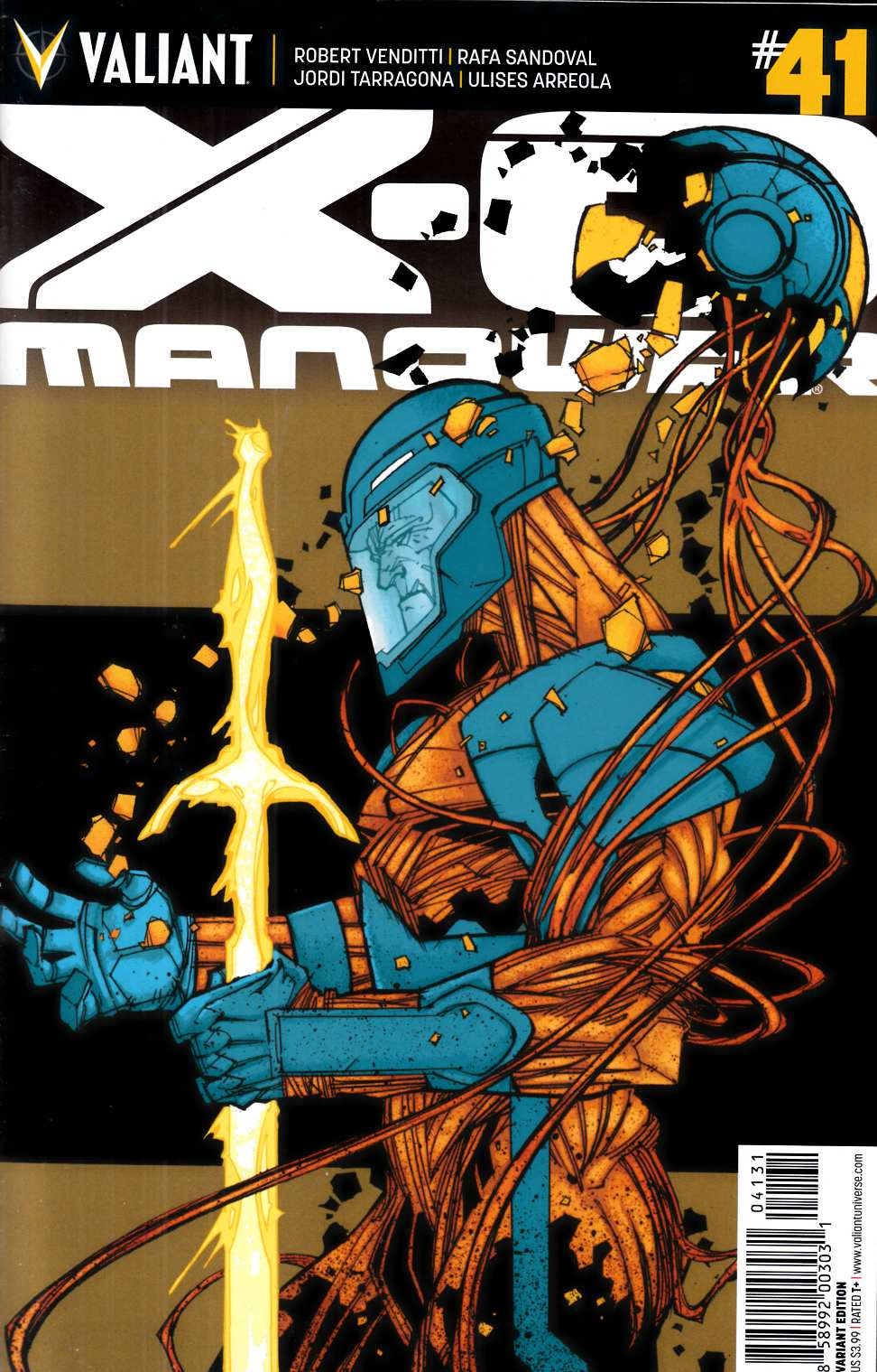 X-O Manowar #41 Cover C- Palo Incentive [Valiant Comic] THUMBNAIL